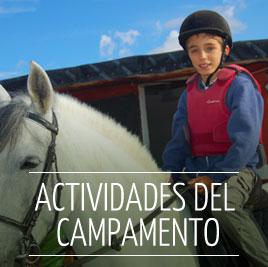 Actividades del Campamento de Verano en Ingles Madrid