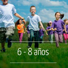 Campamento de Verano en Inglés para niños de 6 a 8 años
