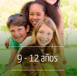 Campamento de Verano en Inglés para niños de 9 a 12 años