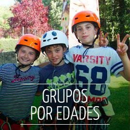 Grupos de Campamento de Verano en Inglés