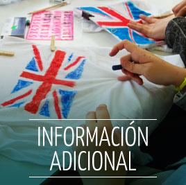 Información de Campamento de Verano en Inglés