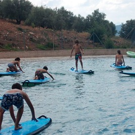 Juegos y Deportes náuticos de Campamento de Verano en Inglés