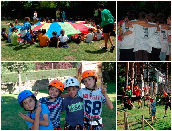 aprendizaje de ingles en los campamentos