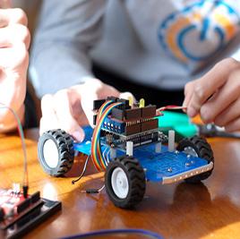 Campamento de verano con Actividad de Robotica para todas las Edades